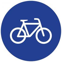 """Panneau de circulation """"piste cyclable"""""""
