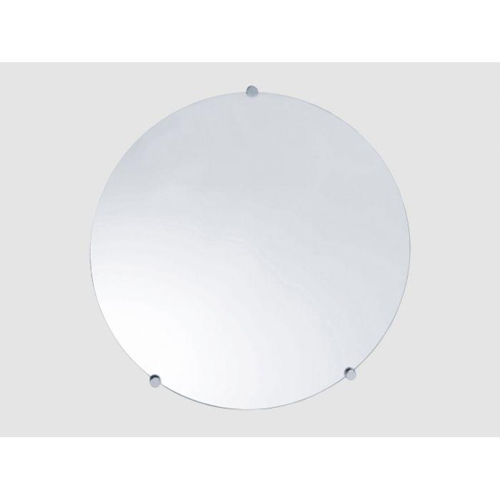 Miroir rond pour sanitaires PMR