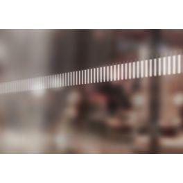 Bandes de signalisation MOTIF barres verticales - Surfaces vitrées