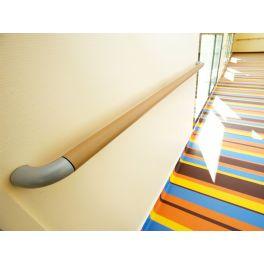 Main courante sur mesure couleur granit int rieur for Main courante bois exterieur