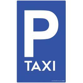 Panneau Parking TAXI - plat