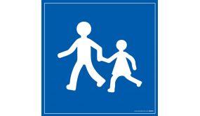Plaque magnétique pour - Enfant à bord