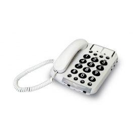 Téléphone larges touches et son amplifié