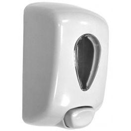 Distributeur de savon PUSH blanc