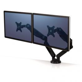 Bras articulé pour double écran