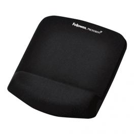 Tapis de souris avec repose-poignet - Mousse - Noir