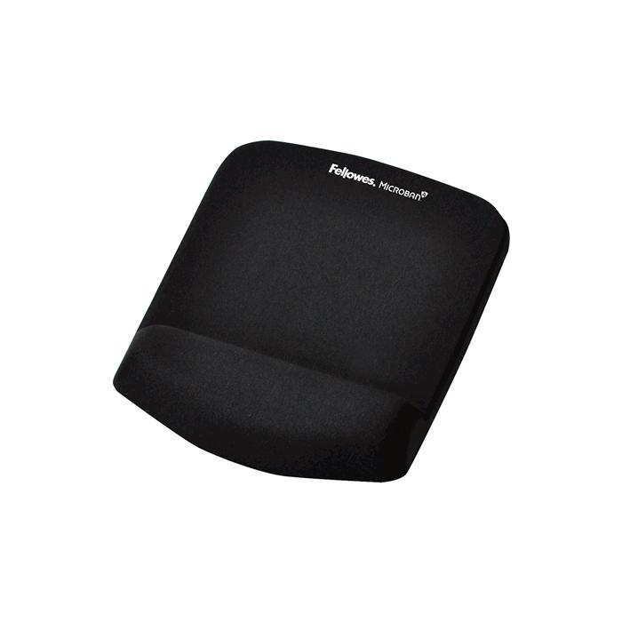 tapis de souris ergonomique en mousse m moire de forme avec repose poignet int gr. Black Bedroom Furniture Sets. Home Design Ideas