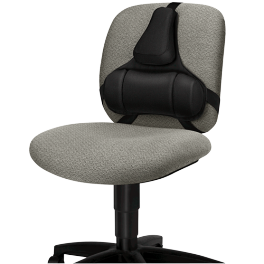 Support dorsal classique pour chaise de bureau