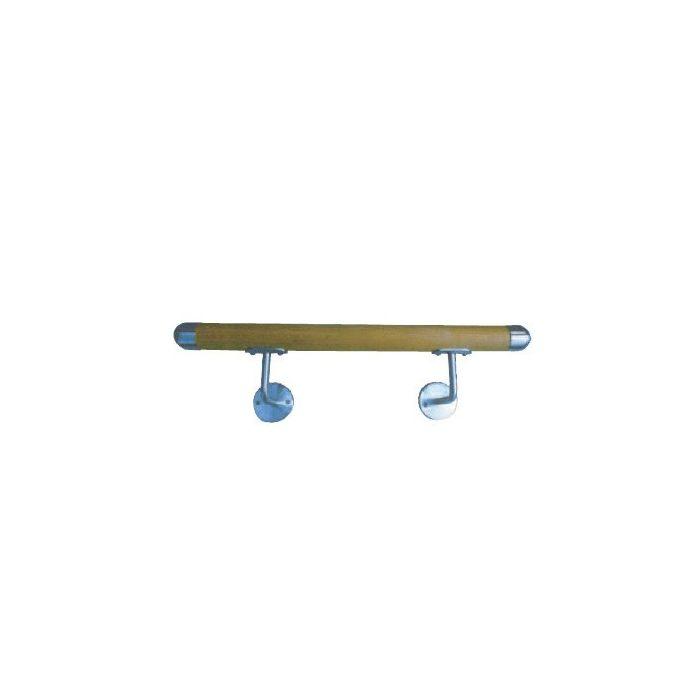 Kit pré-monté main courante WOODY - 2,80 m