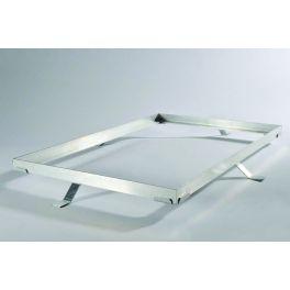 Cadre aluminium pour tapis d'entrée sur mesure