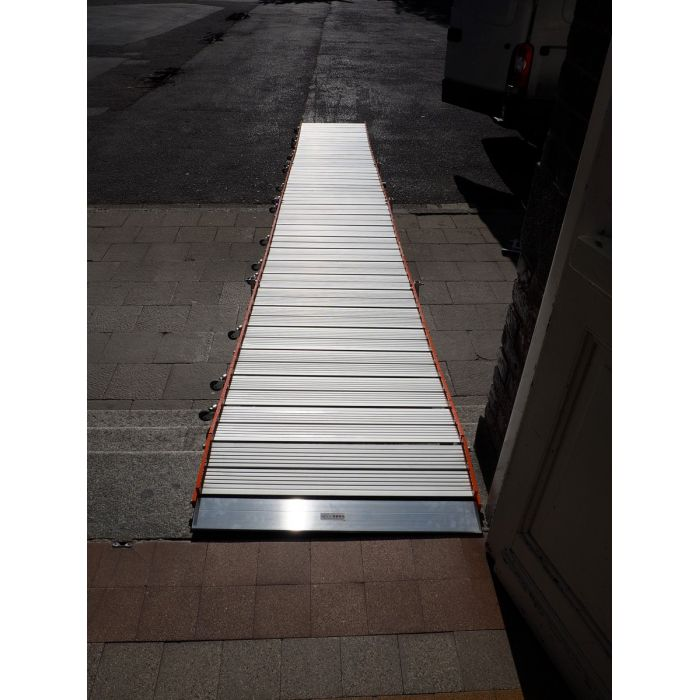 Rampe d'Accès enroulable Aluminium - Roll