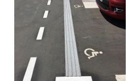 Rail de guidage PMR LIGNE Granité