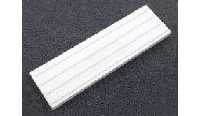 Pack de 30 bande d'aide au guidage en béton blanc -PU