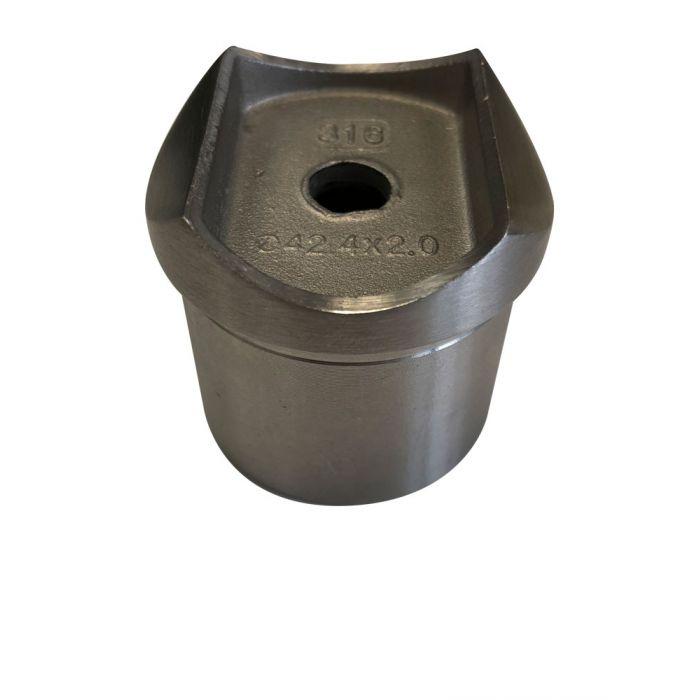 Raccord perpendiculaire pour main courante sur poteau - INOXI