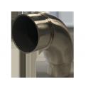 Coude de liaison 90° pour main courante INOXI