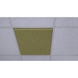 Cloison acoustique GARY - FAUX PLAFOND - 60 x 60 cm - Blanc