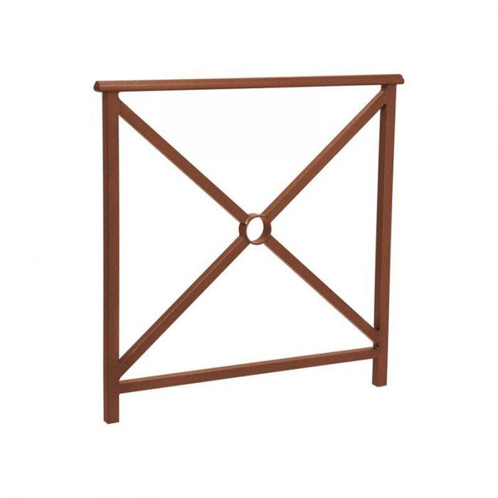 barri re de protection saint andr en acier avec rev tement zinc. Black Bedroom Furniture Sets. Home Design Ideas