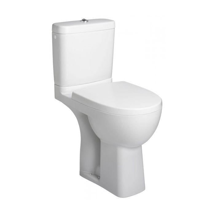 Pack WC surélevé PMR blanc Design