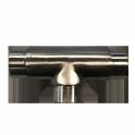 """Raccord en forme de """"T"""" pour barrière modulable BARINOX"""