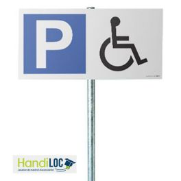 LOCATION - Kit panneau de Parking Handicapé
