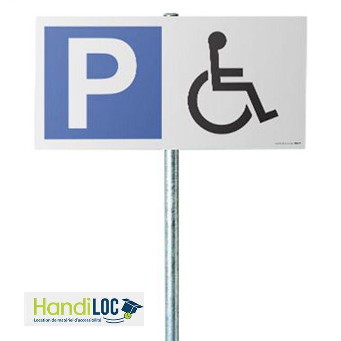 LOCATION - Kit panneau de Parking Handicapé
