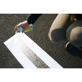 Pochoir spécial ligne droite - 1,2 m ou 5 m