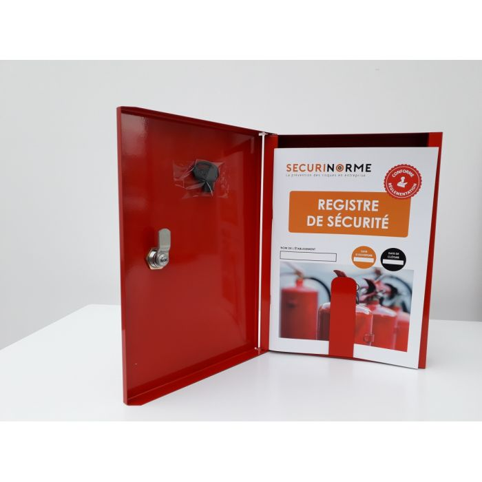 Kit armoire + registre sécurité