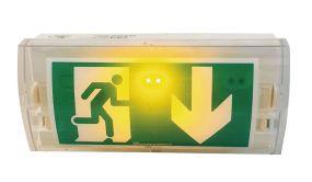 Bloc autonome vierge avec LED - Anti-panique