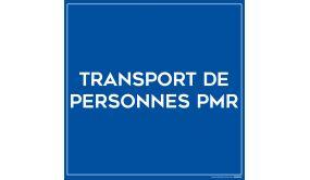 Plaque magnétique pour véhicule - Transport de PMR