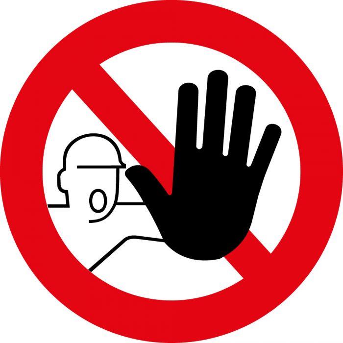 panneau rond accès interdit