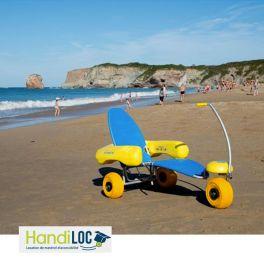 [LOCATION] TIRALO fauteuil roulant d'accès à l'eau