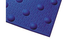 Dalle podotactile - 412 x 1200 mm - en polymère larmé avec adhésif épais - Int/Ext