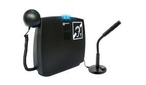 Boucle magnétique mobile pour comptoir d'accueil connectable