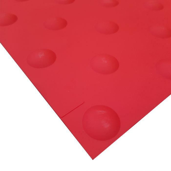 Dalle podotactile COLOR WATeLIN - polyuréthane - auto-Adhésive - 445 x 400 mm - intérieure