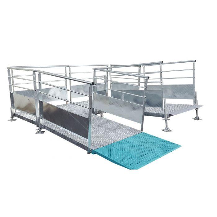 rampe d'accès fixe modulable KMINO