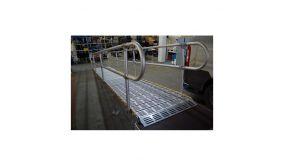 Main courante de 2 m pour Rampe Enroulable ROLL-A-RAMP