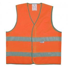 Gilet de sécurité Orange 2 bandes Taille M