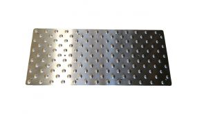 Dalle podotactile Inoxgrip - 420 x 975 mm - Int
