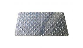 Bande d'éveil à la vigilance en aluminium ALULARM - 3 formats - Ext