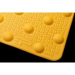 Dalle podotactile en résine avec adhésif épais- Résine méthacrylate - 3 formats - Extérieure