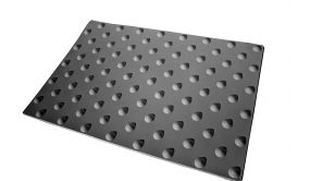 Dalle Podotactile KELBEXT-Résine méthacrylate - 3 formats - Extérieure