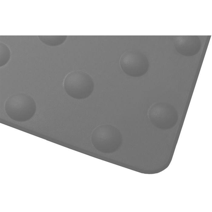 Dalle podotactile - 412 x 825 mm - en polymère lisse avec adhésif épais - Int/Ext