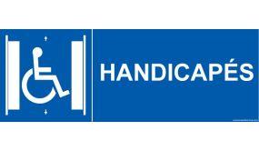 """Signalisation """" Ascenseur Handicapés"""""""