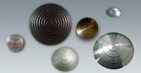 Plots Podotactiles bombés métal