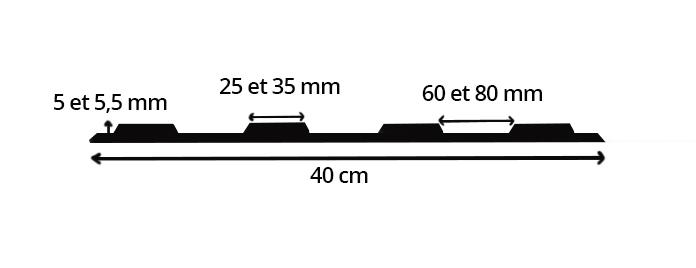 dimensions bao pour l'extérieur