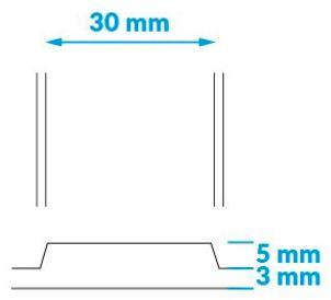 schema dimensions de la BAO