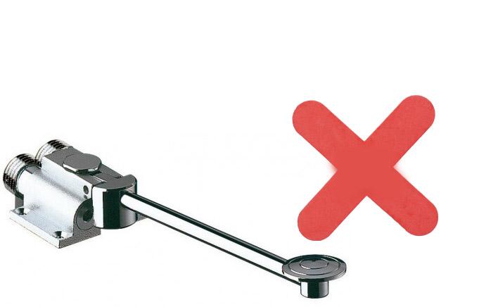 robinet pas accessible pour les pmr