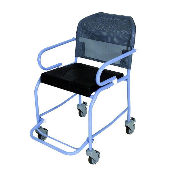 fauteuil de douche roulant