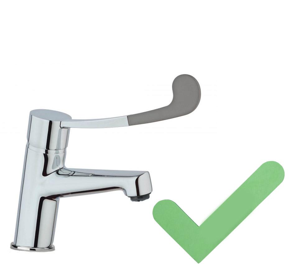 robinet accessible pour les pmr