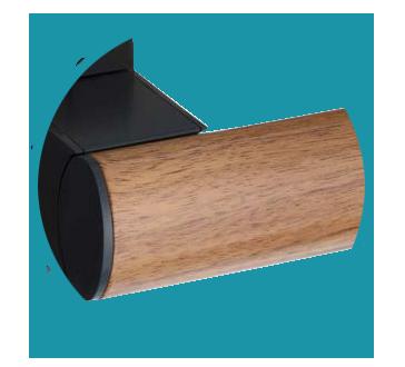barre d'appui en bois